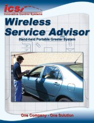 Brochure - Innovative Control Systems