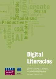 Digital Literacies - Teaching and Learning Research Programme