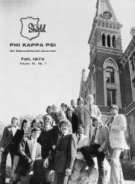 1974-75 Volume 95 No 1-4 - Phikappapsi Archeios