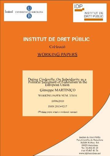 Untitled - Instituto de Derecho Público