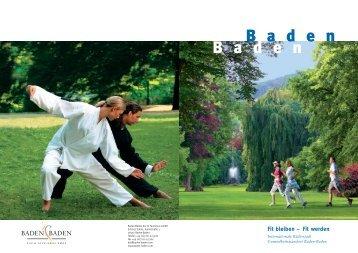 Fit bleiben - Baden-Baden