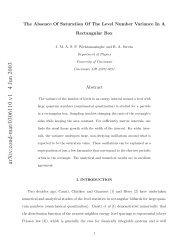 arXiv:cond-mat/0306110 v1 4 Jun 2003 - Physics - University of ...