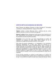ARTRITIS SÉPTICA EN URGENCIAS DE PEDIATRÍA Marti Carreras ...