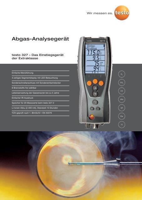 Abgas-Analysegerät