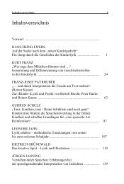 Inhaltsverzeichnis - Deutsche Akademie für Kinder