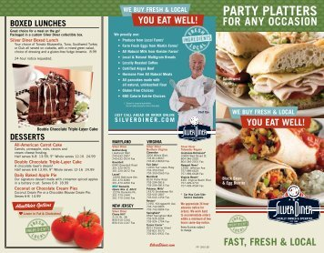 ParTy PLaTTers - Silver Diner