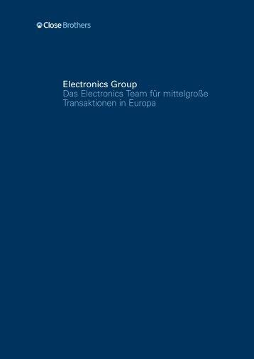 Electronics Group Das Electronics Team für mittelgroße ...