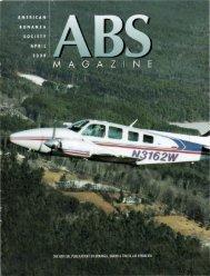 April 2000 - American Bonanza Society