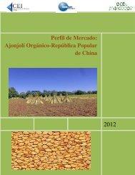 Ajonjolí Orgánico- Perfil de Mercado: -República Popular de ... - CEI