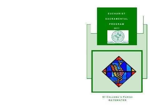 First Communion Information Booklet 2011 pdf - Saint