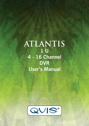 Atlantis Manual - Qvis Security