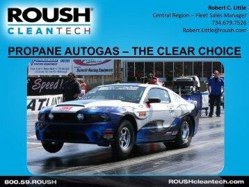 propane autogas – the clear choice - Alabama Clean Fuels Coalition
