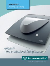 Interacoustics Affinity - Northeastern Technologies Group