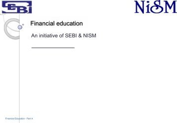 Financial education - SEBI Investor Awareness Website