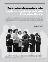 Formación de mentores de profesores ... - Revista Docencia