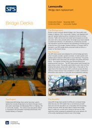 Bridge Decks - SPS