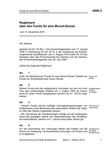 4500.3 - Stadt Schaffhausen