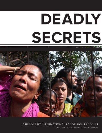 Deadly Secrets - Ethix Merch
