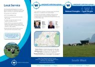 Local Service - Westpoint Veterinary Group
