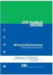Rubrik Außenhandel - Hohmann