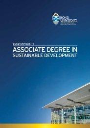 ASSOCIATE DEGREE IN - Bond University