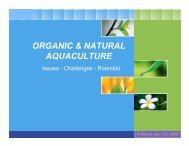 logo organic & natural aquaculture