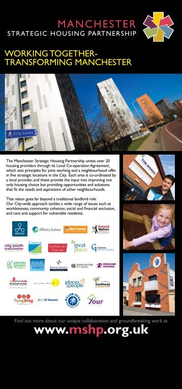 1 - Manchester Strategic Housing Partnership