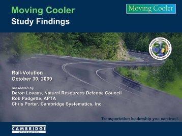 Moving Cooler -Standard Briefing draft 7-27-09 - Rail~Volution