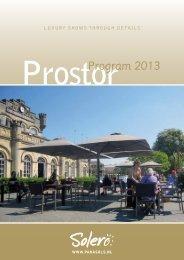 ProstorProgram 2013 - Solero Parasols