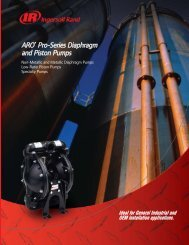 ARO® Pro-Series Diaphragm and Piston Pumps