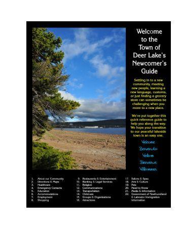 Download - Town of Deer Lake