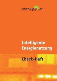 Intelligente Energienutzung Check-Heft Intelligente Energienutzung ...