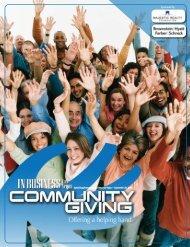 CommuNity GiviNG • 2007 - Las Vegas Sun