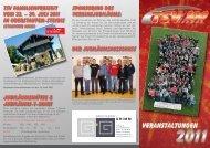 Für Flyer hier klicken - TSV Gronau