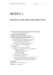 MODUL 1 - TestDaF-Institut