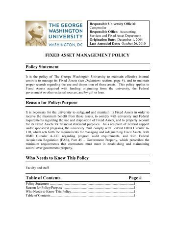 Fixed asset add form sau 9 for Fixed asset policy template