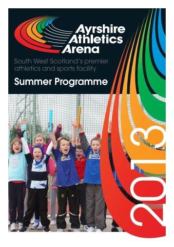Summer programme 2013 - East Ayrshire Council