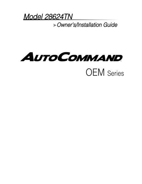 Model 28624TN - Ready Remote