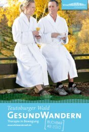 GESUNDWANDERN - Teutoburger Wald