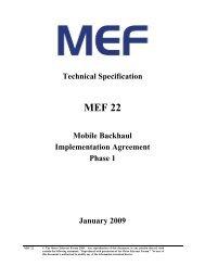 MEF 22
