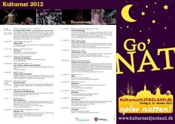 Kulturnat-program-2012 - KulturnatDJURSLAND