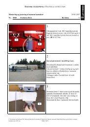 Montering og justering af moment kontakter - AJ Maskin AS