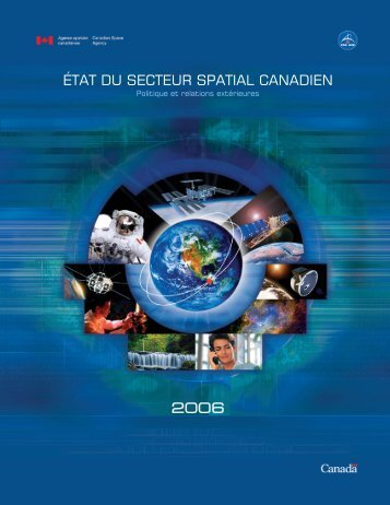 2006 - Agence spatiale canadienne