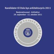 Her finner du katalogen for alle de 25 kandidatene til årets pris. - Plan