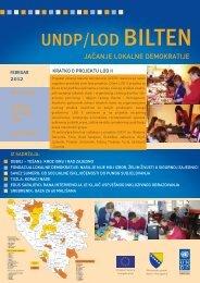 UNDP/LOD BILTEN - OCD Direktorij Jablanica