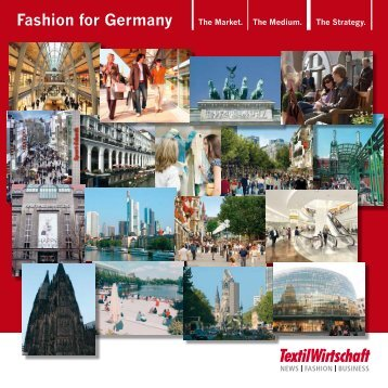 Fashion for Germany - TextilWirtschaft