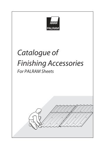 Catalogue of Finishing Accessories