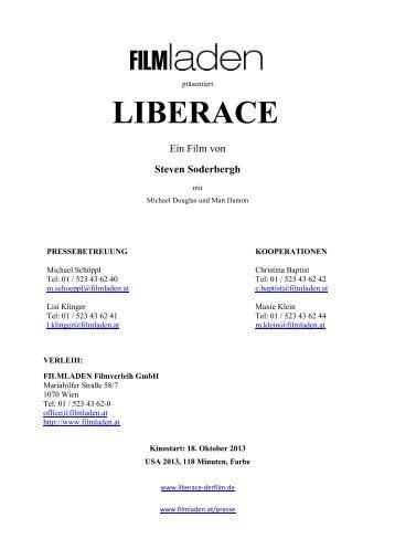 LIBERACE - Filmladen