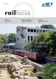Fresh Air - SMA Railway Technology GmbH