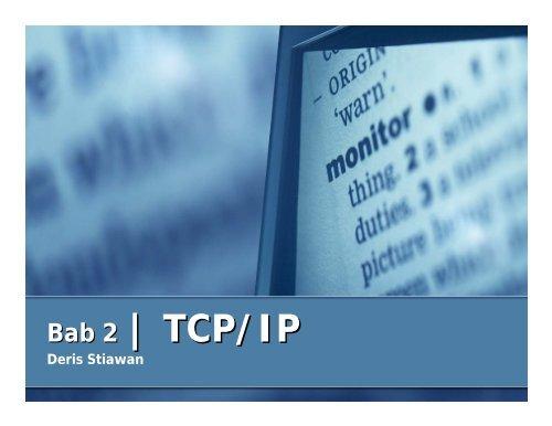 Bab 2 | TCP/IP